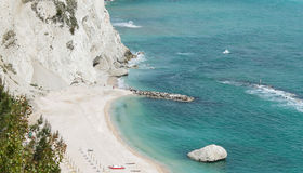 Conero cliffs Stock Images