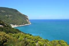 Conero krajobraz, Włochy Obraz Royalty Free
