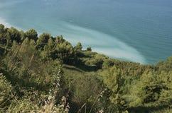 Conero natuurreservaat, Italië Stock Foto's