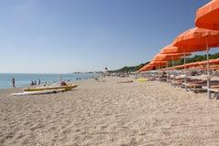 Conero plaża, Włochy Obrazy Royalty Free
