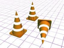Cones Royalty Free Stock Photo