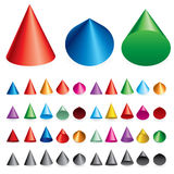 Cones Royalty Free Stock Image