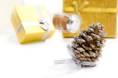 Cones for Christmas Stock Photo