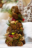 Cones Christmas tree Royalty Free Stock Images