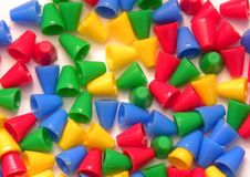 Cones colors Royalty Free Stock Photo