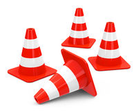 The cones Royalty Free Stock Photo