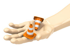 The cones Stock Photography