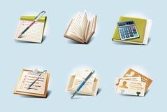 Ícones da aplicação do vetor. Parte 1 Fotos de Stock