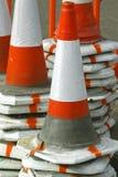 Cones da segurança Imagens de Stock Royalty Free