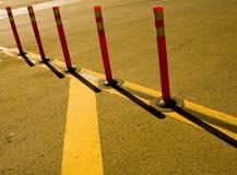 Cones da segurança Imagem de Stock Royalty Free