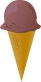 Cones de gelado ilustração do vetor