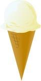 Cones de gelado ilustração stock