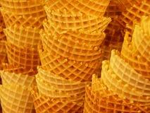 Cones de gelado Foto de Stock Royalty Free