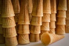 Cones de gelado Imagens de Stock Royalty Free