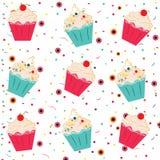 Cones de gelado da morango, do chocolate, da baunilha e do pistachio sobre o fundo branco Fotografia de Stock Royalty Free