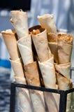 Cones de gelado feitos a mão Imagens de Stock