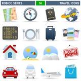 Ícones do curso - série de Robico Fotografia de Stock Royalty Free