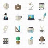 Ícones do escritório Foto de Stock Royalty Free