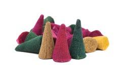 Cones do incenso Foto de Stock
