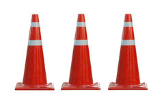 Cones do tráfego Foto de Stock