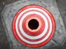 Cones do tráfego de cima de Imagem de Stock Royalty Free