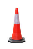 Cones do tráfego isolados Foto de Stock Royalty Free