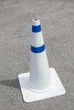 Cones do tráfego na estrada Imagem de Stock Royalty Free