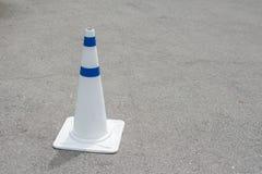 Cones do tráfego na estrada Fotografia de Stock