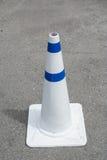 Cones do tráfego na estrada Foto de Stock