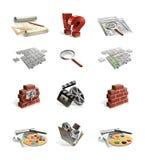 Ícones do Web site Imagens de Stock