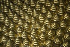 Cones dourados imagem de stock