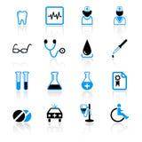Ícones médicos Imagem de Stock