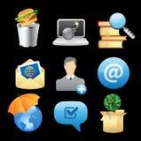 Ícones para conceitos Fotografia de Stock Royalty Free