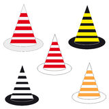 Cones on white background Royalty Free Stock Photos