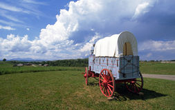Conestoga wagon Stock Photography