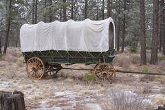 Conestoga Wagon Royalty Free Stock Photos