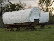 Conestoga Wagons Stock Images