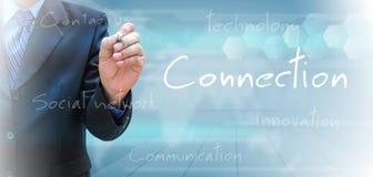 conexão Fotografia de Stock Royalty Free