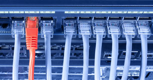 Conexão ao Internet Imagem de Stock