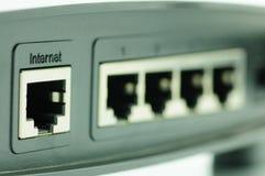 Conexão ao Internet Fotografia de Stock