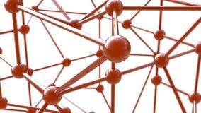 Conexão da estrutura 3d Fotos de Stock