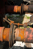 Conexão do trem Foto de Stock