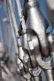 Conexão dos fornos da plataforma através dos grilhões Foto de Stock Royalty Free