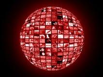 Conexão global imagens de stock royalty free