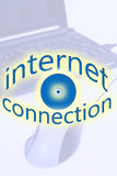 Conexão a internet Foto de Stock Royalty Free