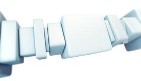 Conexão simbólica Imagens de Stock