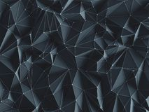 Conexões abstratas do fundo Imagem de Stock Royalty Free