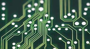 Conexões da placa de circuito Imagens de Stock Royalty Free