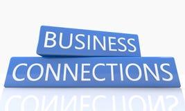 Conexões de negócio Fotografia de Stock