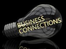 Conexões de negócio Fotos de Stock Royalty Free
